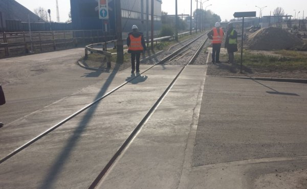 Modernization of the Railway Track no 24 on the Area of Electrical Power and Heating Plant Siekierki